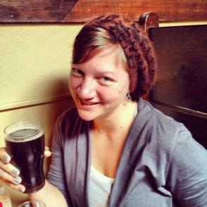 Celebratory beer at noon thirty